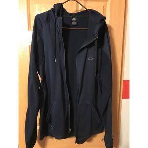 Oakley zip-up hoodie